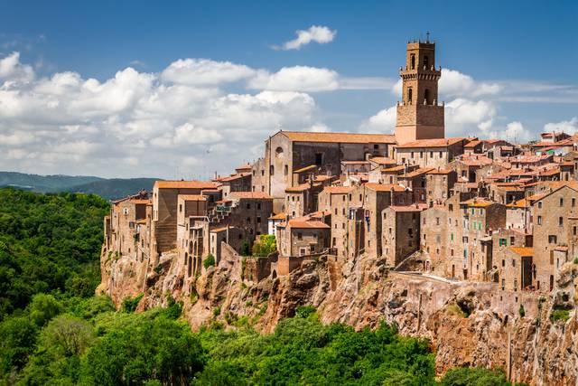Immagine di borgo della Toscana